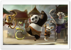 Kung Fu Panda 2 HD Wide Wallpaper for Widescreen