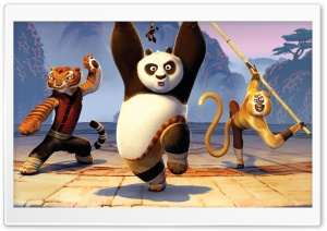 Kung Fu Panda 2 Movie HD Wide Wallpaper for Widescreen