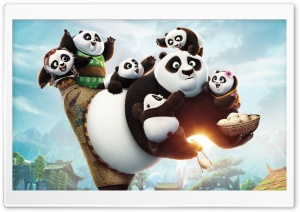 Kung Fu Panda 3 2016 HD Wide Wallpaper for Widescreen