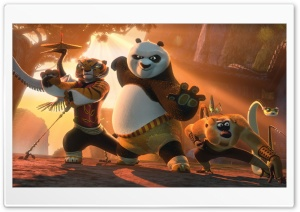 Kung Fu Panda 2 Ultra HD Wallpaper for 4K UHD Widescreen desktop, tablet & smartphone