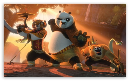Kung Fu Panda 2 HD wallpaper for Wide 5:3 Widescreen WGA ; HD 16:9 High Definition WQHD QWXGA 1080p 900p 720p QHD nHD ; Mobile 5:3 16:9 - WGA WQHD QWXGA 1080p 900p 720p QHD nHD ;