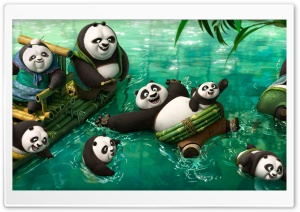 Kung Fu Panda 3 HD Wide Wallpaper for 4K UHD Widescreen desktop & smartphone