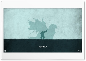 Kunkka - DotA 2 HD Wide Wallpaper for 4K UHD Widescreen desktop & smartphone