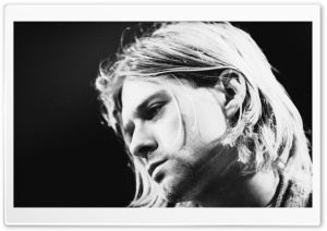 Kurt Cobain HD Wide Wallpaper for Widescreen
