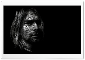 Kurt Cobain Portrait HD Wide Wallpaper for Widescreen
