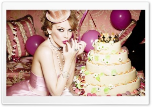 Kylie Minogue Birthday HD Wide Wallpaper for Widescreen