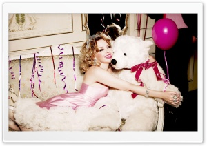Kylie Minogue's Birthday 2 HD Wide Wallpaper for Widescreen