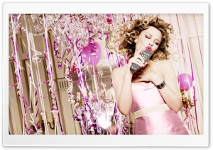 Kylie Minogue's Birthday 4 Ultra HD Wallpaper for 4K UHD Widescreen desktop, tablet & smartphone