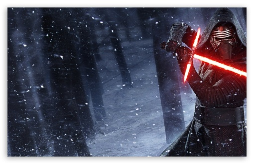 Kylo Ren Star Wars Lightsaber Ultra Hd Desktop Background