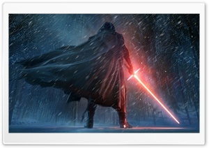 Kylo Ren Star Wars The Force Awaken HD Wide Wallpaper for 4K UHD Widescreen desktop & smartphone
