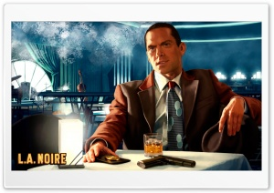 L.A. Noire HD Wide Wallpaper for Widescreen