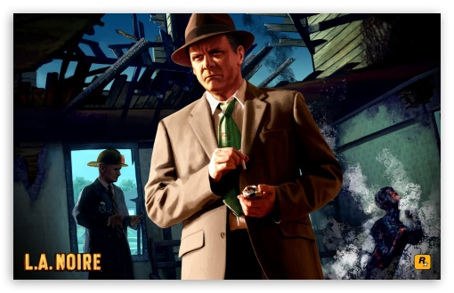 L.A. Noire HD wallpaper for Wide 16:10 5:3 Widescreen WHXGA WQXGA WUXGA WXGA WGA ; Mobile 5:3 - WGA ;