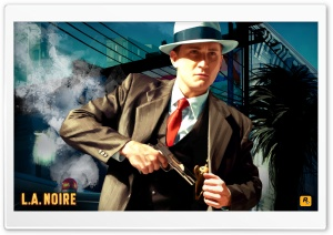 L.A. Noire HD Wide Wallpaper for 4K UHD Widescreen desktop & smartphone