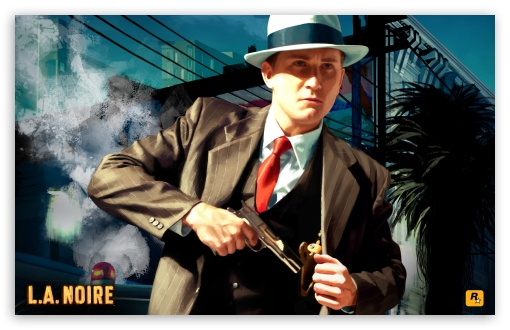L.A. Noire HD wallpaper for Wide 16:10 5:3 Widescreen WHXGA WQXGA WUXGA WXGA WGA ; HD 16:9 High Definition WQHD QWXGA 1080p 900p 720p QHD nHD ; Mobile 5:3 16:9 - WGA WQHD QWXGA 1080p 900p 720p QHD nHD ;