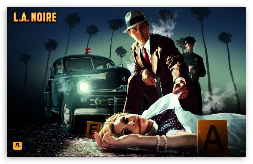 L.A. Noire HD wallpaper for Wide 16:10 5:3 Widescreen WHXGA WQXGA WUXGA WXGA WGA ; Standard 3:2 Fullscreen DVGA HVGA HQVGA devices ( Apple PowerBook G4 iPhone 4 3G 3GS iPod Touch ) ; Mobile 5:3 3:2 - WGA DVGA HVGA HQVGA devices ( Apple PowerBook G4 iPhone 4 3G 3GS iPod Touch ) ;