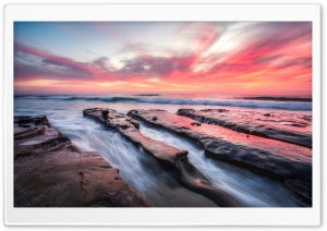 La Jolla Sunset HD Wide Wallpaper for Widescreen