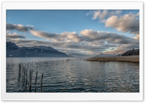 Lac du Bourget Savoie HD Wide Wallpaper for Widescreen