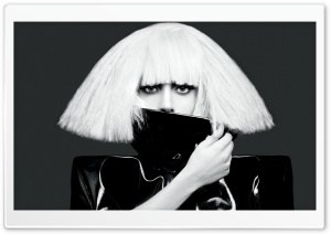 Lady Gaga HD Wide Wallpaper for Widescreen