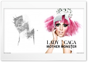 Lady Gaga Mother Monster HD Wide Wallpaper for Widescreen