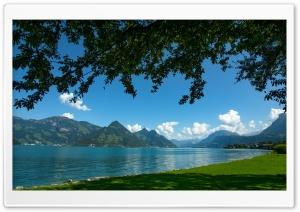 Lago dei 4 cantoni HD Wide Wallpaper for 4K UHD Widescreen desktop & smartphone