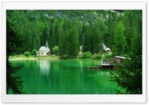 Lago Di Braies Prags Italy Ultra HD Wallpaper for 4K UHD Widescreen desktop, tablet & smartphone