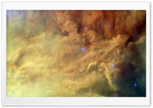 Lagoon Nebula (catalogued as Messier 8 or M8, and as NGC 6523) HD Wide Wallpaper for Widescreen