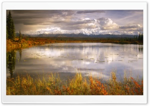 Lake Autumn HD Wide Wallpaper for Widescreen