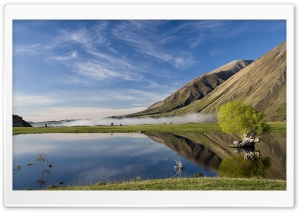 Lake Coleridge, New Zealand HD Wide Wallpaper for 4K UHD Widescreen desktop & smartphone