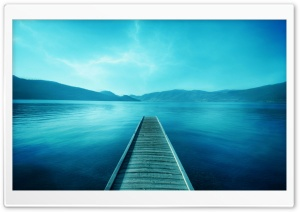 Lake Dock HD Wide Wallpaper for 4K UHD Widescreen desktop & smartphone