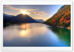 Lake Fall HD Wide Wallpaper for Widescreen