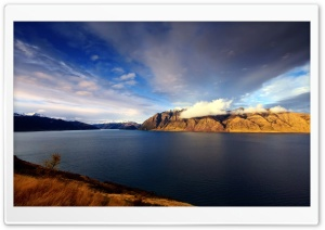 Lake Hawea, New Zealand HD Wide Wallpaper for 4K UHD Widescreen desktop & smartphone