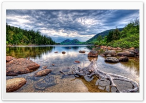 Lake HDR HD Wide Wallpaper for 4K UHD Widescreen desktop & smartphone