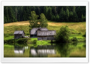 Lake House HD Wide Wallpaper for Widescreen