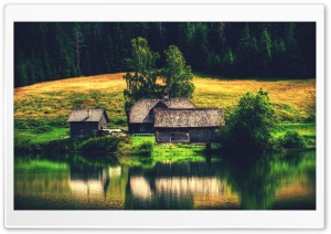 Lake House 2 HD Wide Wallpaper for Widescreen