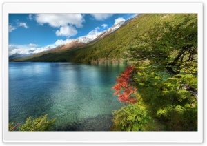 Lake In Argentina HD Wide Wallpaper for 4K UHD Widescreen desktop & smartphone