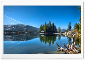 Lake in California USA HD Wide Wallpaper for Widescreen