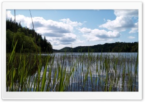 Lake In East Sweden HD Wide Wallpaper for Widescreen
