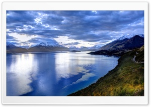 Lake In New Zealand HD Wide Wallpaper for 4K UHD Widescreen desktop & smartphone