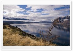 Lake In New Zeeland HD Wide Wallpaper for 4K UHD Widescreen desktop & smartphone