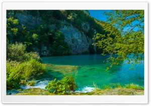 Lake in Plitvice HD Wide Wallpaper for Widescreen