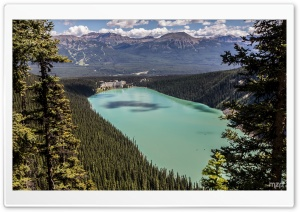 Lake Louise, Alberta, Canada HD Wide Wallpaper for Widescreen