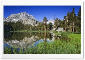 Lake Mary Louise In The Eastern Sierra CA HD Wide Wallpaper for 4K UHD Widescreen desktop & smartphone