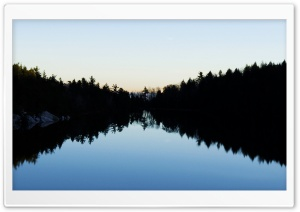 Lake Minnewska, Minnewaska State Park HD Wide Wallpaper for Widescreen
