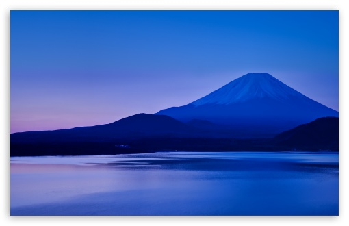 Lake Motosu And Mount Fuji 4k Hd Desktop Wallpaper For 4k