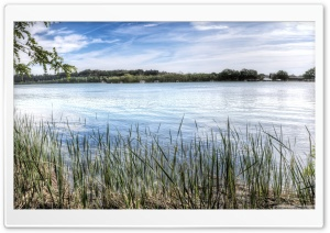 Lake of Banyoles Catalonia HD Wide Wallpaper for Widescreen