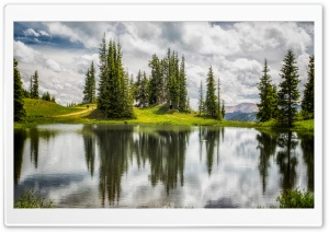 Lake, Paradise Basin, Crested Butte, Colorado HD Wide Wallpaper for 4K UHD Widescreen desktop & smartphone