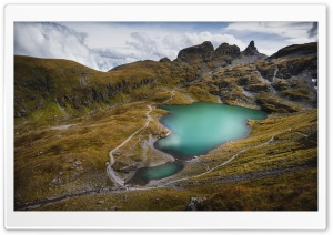 Lake, Pizol Mountain, Glarus...