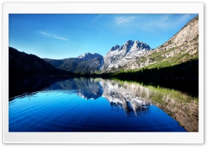 Lake Reflection HD Wide Wallpaper for Widescreen