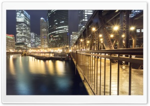 Lake Street, Chicago Ultra HD Wallpaper for 4K UHD Widescreen desktop, tablet & smartphone
