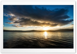 Lake Sunrise HD Wide Wallpaper for Widescreen